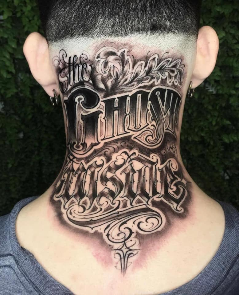 Lettering und Freehand Lettering - Tattoo Trends 2020