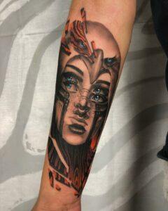 Tattookünstler Manuel | Black'n'Grey und Abstract